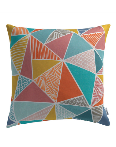 Tress in Multi-Color Cushion Cover