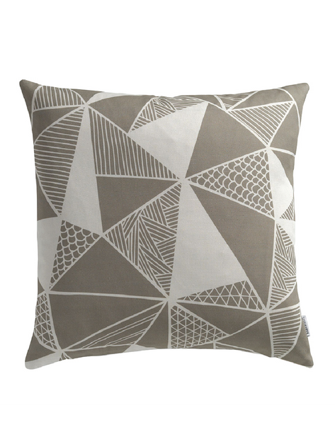 Tress in Grey Cushion Cover