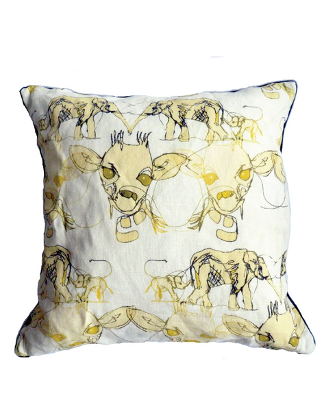 Tobyboo Victoria Linen Cushion Cover