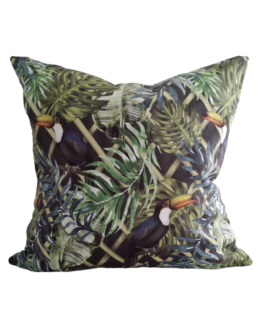 Charlotte Jade Wild Garden Cushion Cover