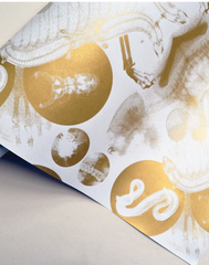 X-Ray Damask, Gold
