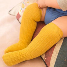 Load image into Gallery viewer, Mustard knee high socks
