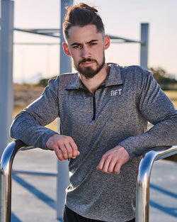 Mens Core Performance Half Zip Tee