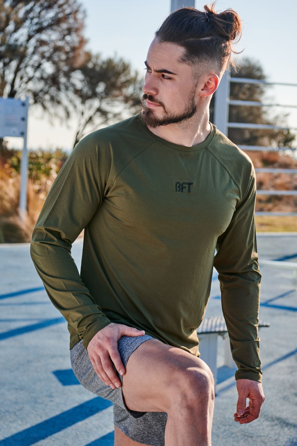 Mens Lifestyle Long Sleeve Tee