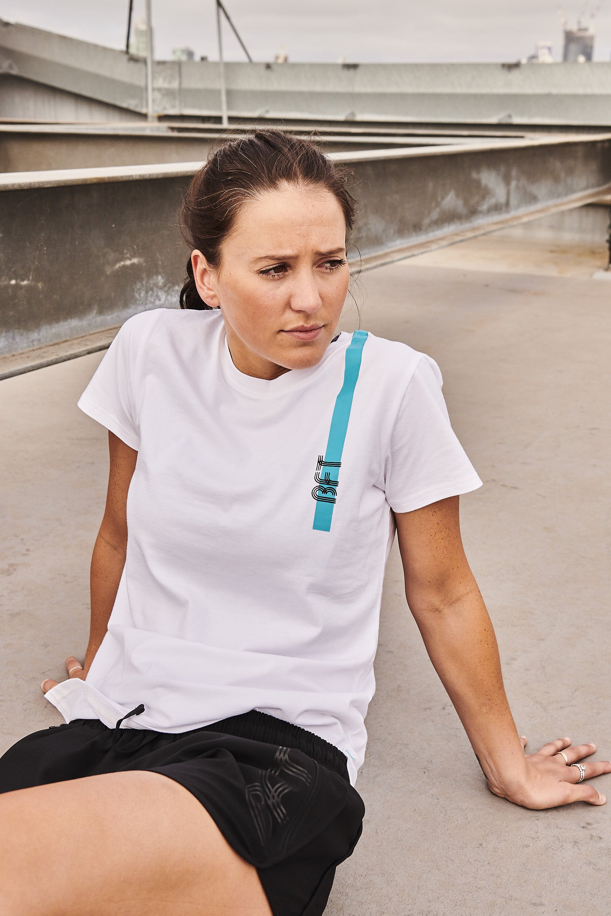 Womens Core Cotton Tee - White