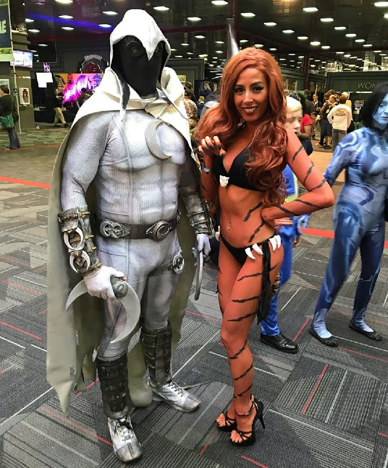 2206 Cosplay Moon Knight Tigra