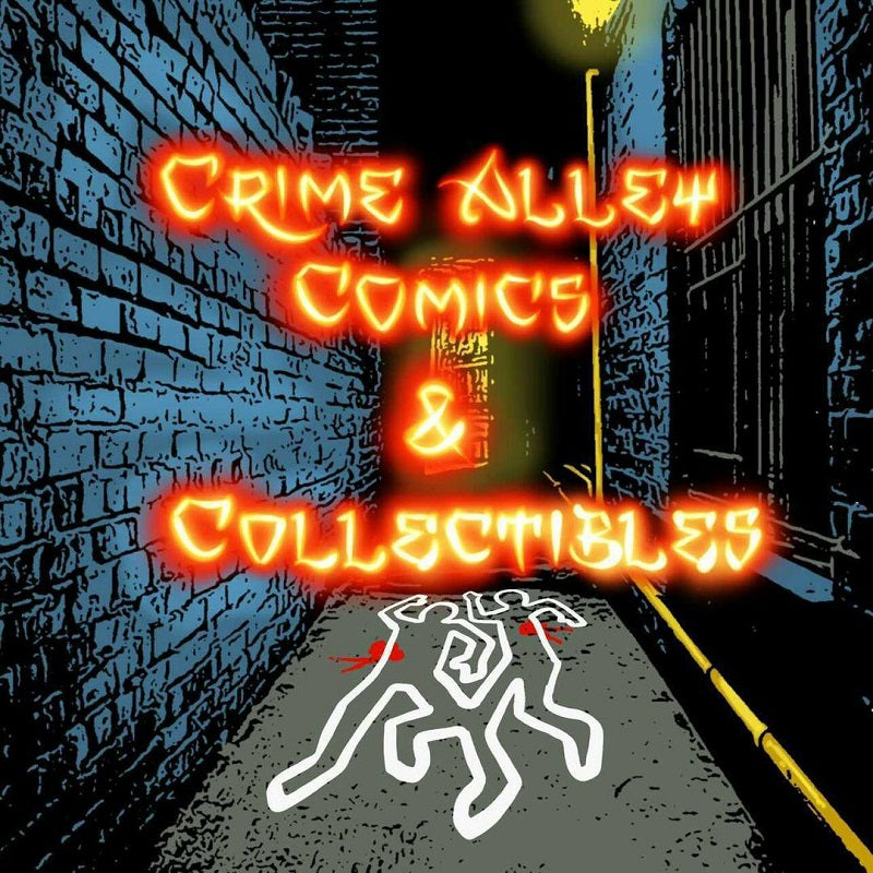 Crime Alley Comics & Collectibles Logo