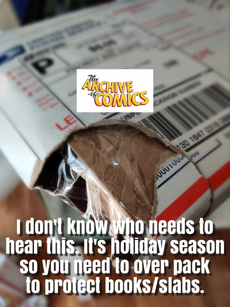 The Archive of Comics Holiday Shipping Meme