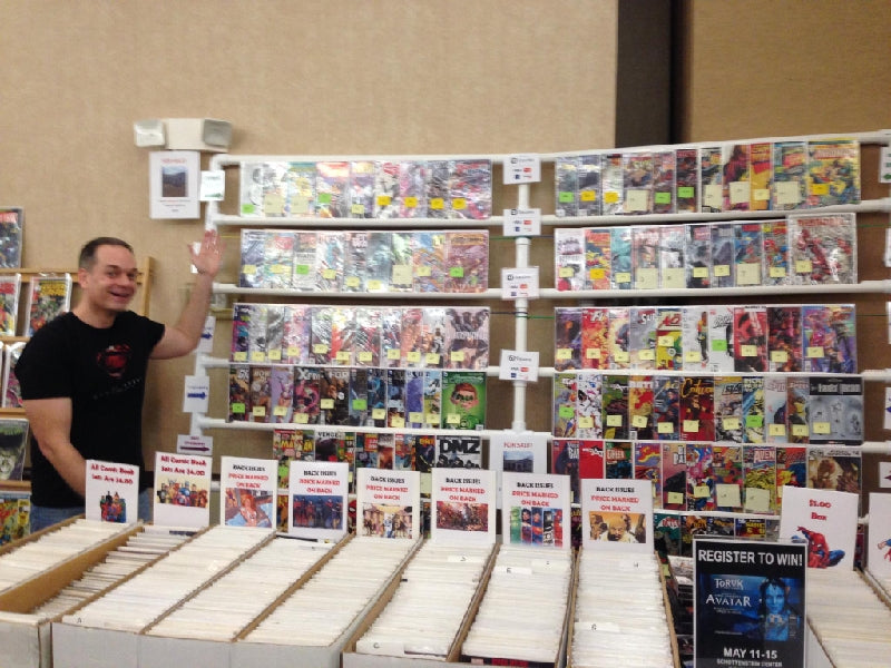 Comic Book Seller Mark Buckingham