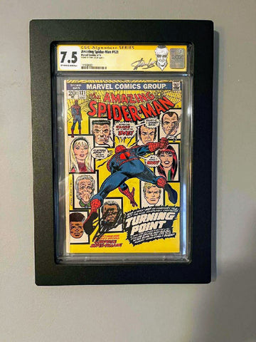 Amazing Spider-man #121 CGC SS 7.5 Signed by Stan Lee