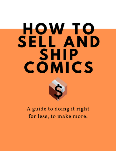 How to Sell and Ship Comics eBook Cover