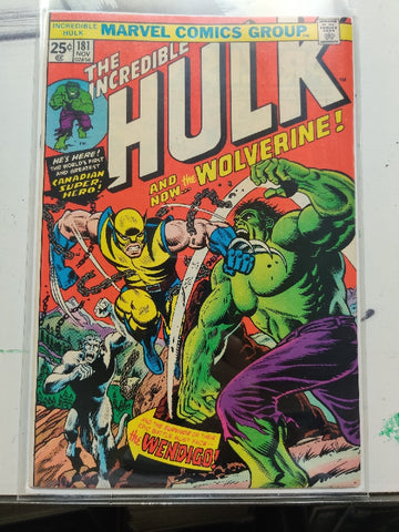 Incredible Hulk #181 - First Appearance of Wolverine