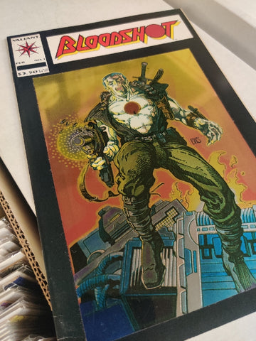 Bloodshot #1 - First Chromium Cover in Comics