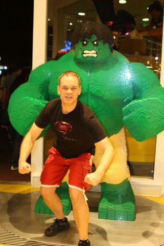 Mark Buckingham and Lego Hulk