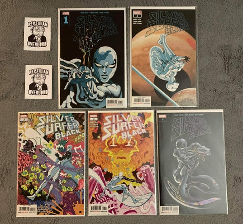 Silver Surfer Black Issues
