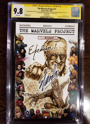 Stan Lee Custom Cover by Randy Proctor of Legal Burning