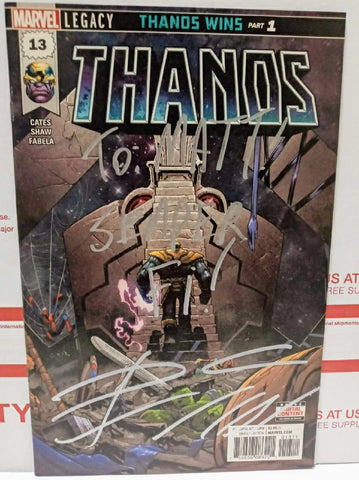 Thanos #13 Signed by Donny Cates
