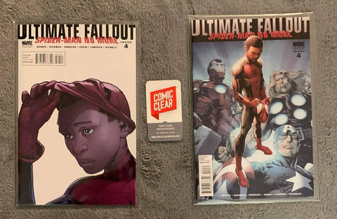 Ultimate Fallout #4 - 1st & 2nd Prints - First Appearance of Miles Morales