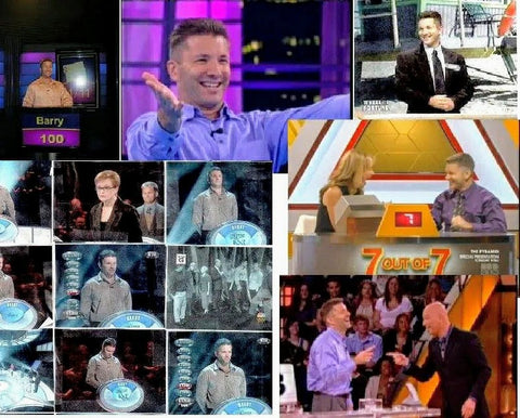Barry Dutter at Various Gameshows