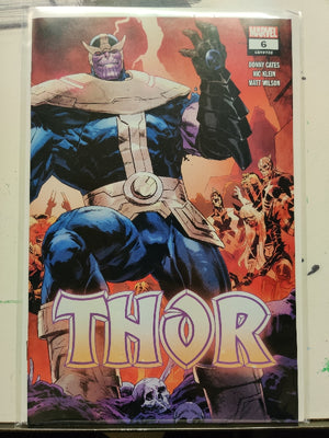 Thor #6 - 2nd Printing - Nic Klein Wraparound Variant Cover - The Archive of Comics
