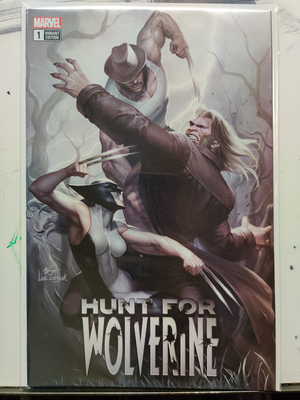 Hunt for Wolverine #1 Variant | Marvel Comics - The Archive of Comics