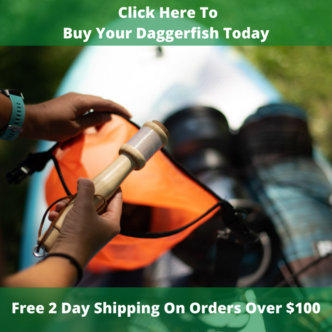 Get Your Daggerfish Ultralight Backpacking Fishing Rod Today