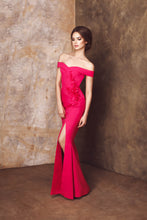 Load image into Gallery viewer, Arielle - Off Shoulder Gown