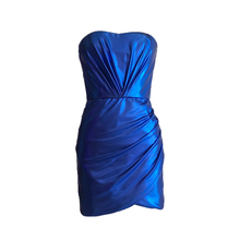 Load image into Gallery viewer, Carly Draped Mini Dress