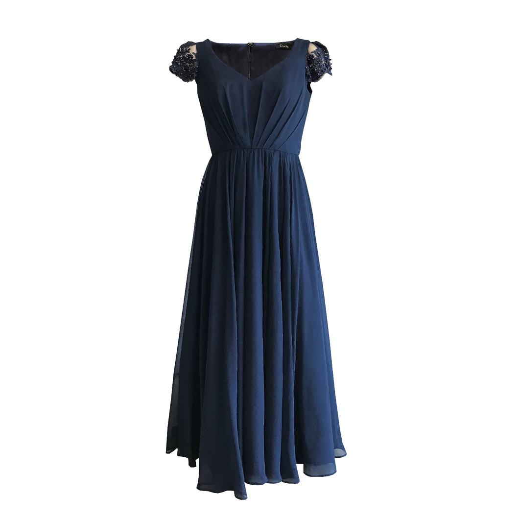 Deplhine Chiffon Dress