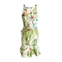 Load image into Gallery viewer, Kamila Tropical Print Mini Dress