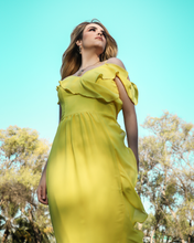 Load image into Gallery viewer, Cassandra Chiffon Dress