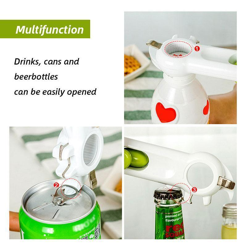 6 in 1 Can Opener
