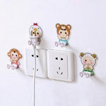 Cartoon Animal Socket Hook Strong Hook Set