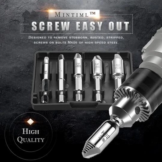 Mintiml™ Screw Extractor(5 Pcs) New