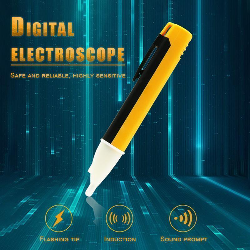 Digital sensing non-contact electroscope