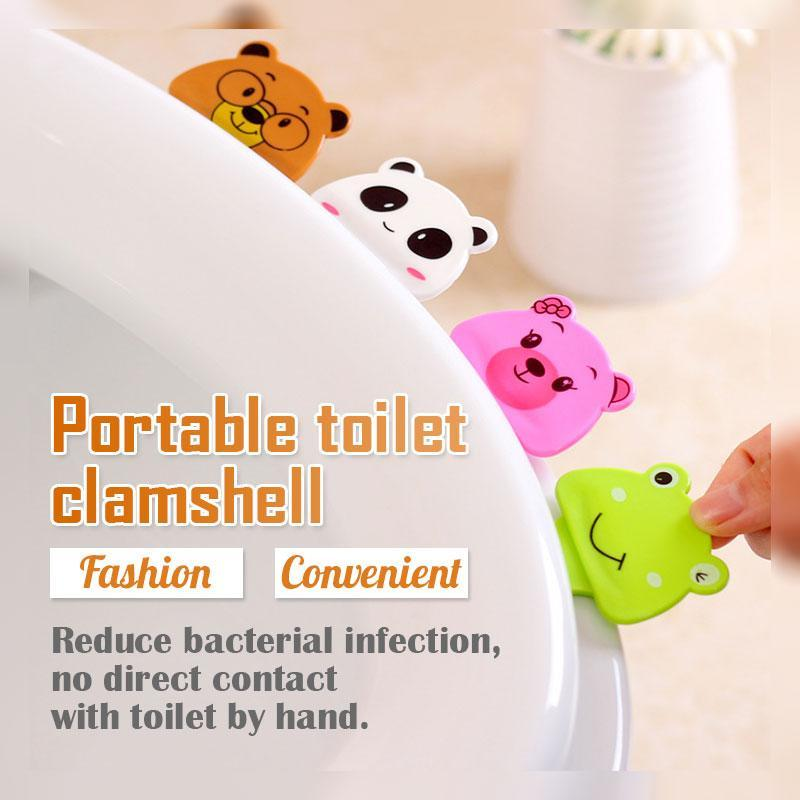 Portable Toilet Clamshell