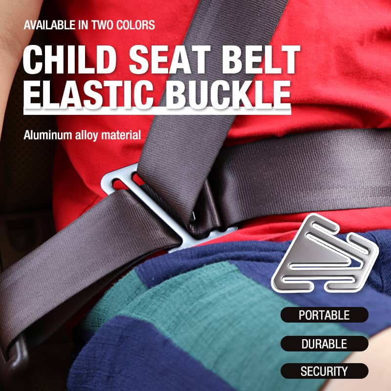 Child Seat Belt Elastic Buckle
