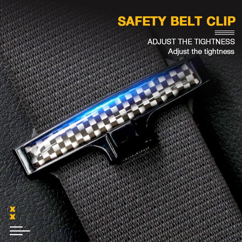 2 Pcs Safety Belt Clip(One Pair)