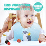 Kids Waterproof Disposable Bibs