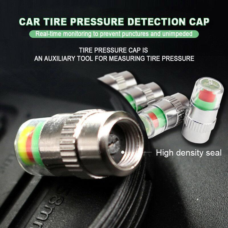 Car Tire Pressure Detection Cap