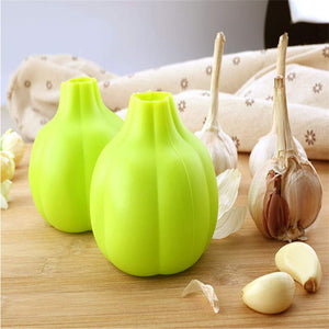 Food Grade Silicone Manual Garlic Peeler
