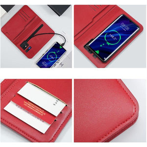 New Multifunctional Wireless Charging Wallet