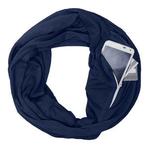Zipper Pocket Infinity Scarf