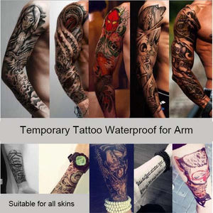 Waterproof Temporary Tattoo for Arms