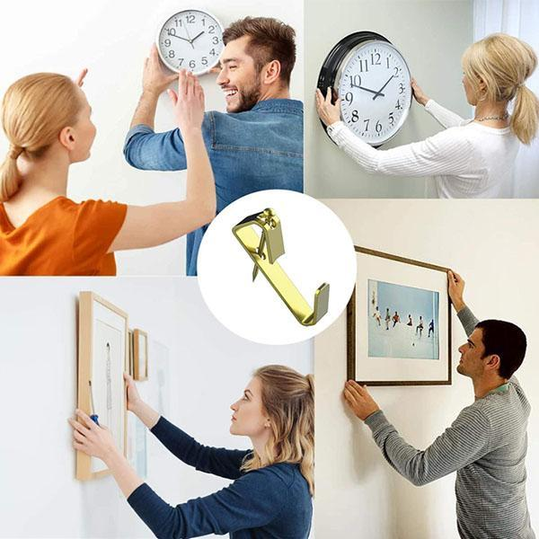 130PCS Picture Hangers with Nails