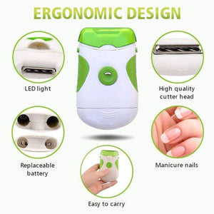 Electric Nail Trimmer & File(50% OFF)
