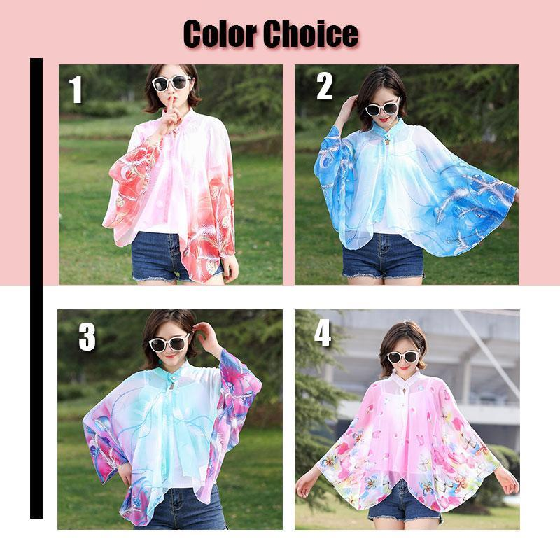 Summer Sun-Proof Clothing Chiffon Shawl