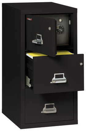 FireKing ® 3 Drawer Legal-Size Safe-In-A-File