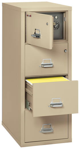 FireKing ® 4 Drawer Legal-Size Safe-In-A-File