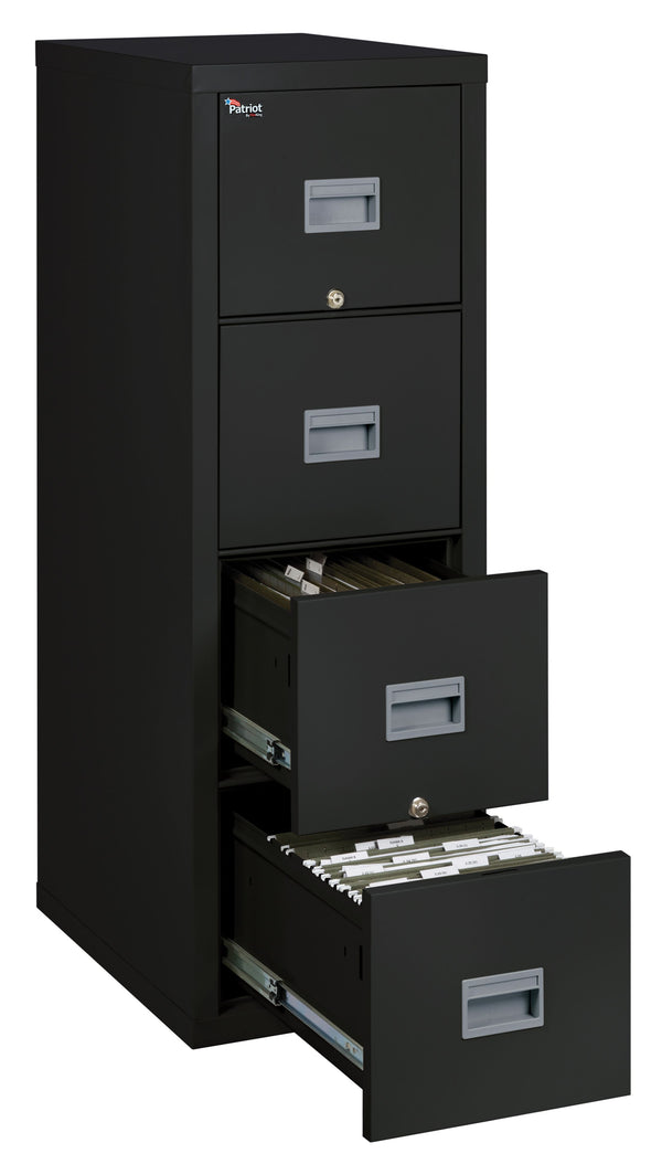 Patriot by FireKing ® 4 Drawer Vertical Legal/Letter File - 25